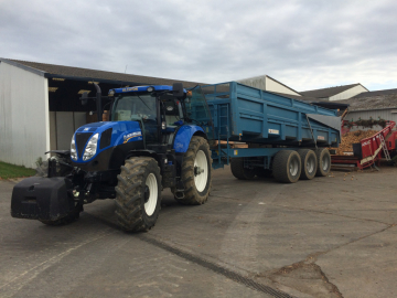 Tracteur d'occasion New Holland